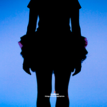 A Dance at Illinois dancer in silhouette. Photo by Natalie Fiol.