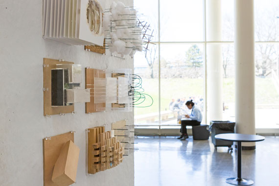 Architecture Exhibit Spring 2018 Exhibit, Photo by Natalie Fiol