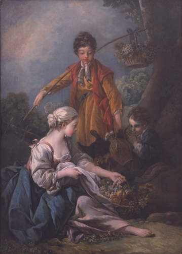 Les vendanges by François Boucher, Image Courtesy of Krannert Art Museum
