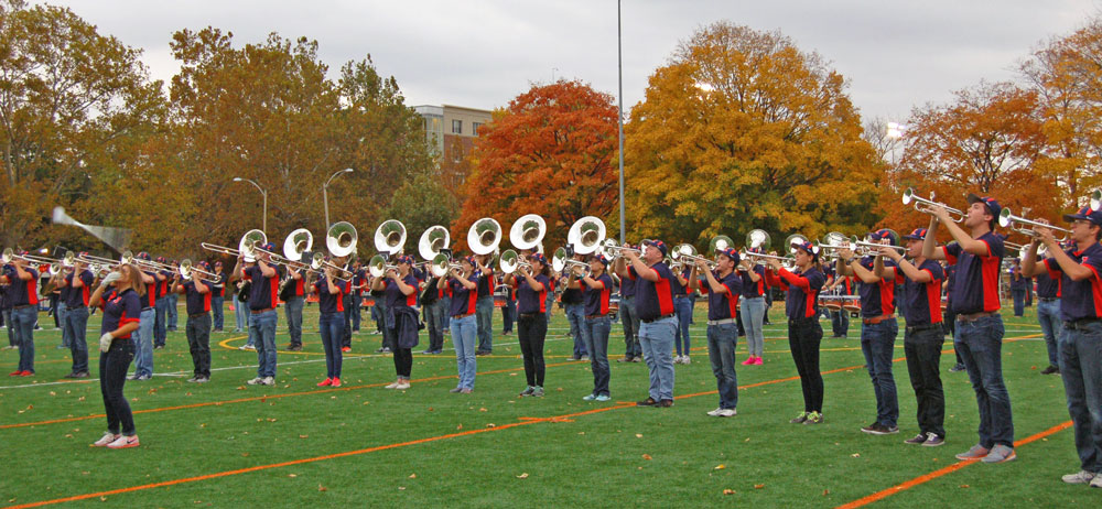 Marching Illini, Fall 2015 Rehearsal, Photo by Madeline Maranto