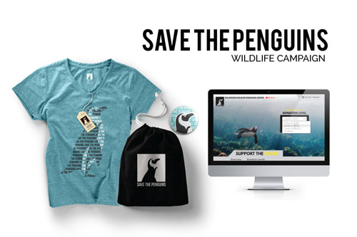 Save the Penguins Campaign by Amy Monks