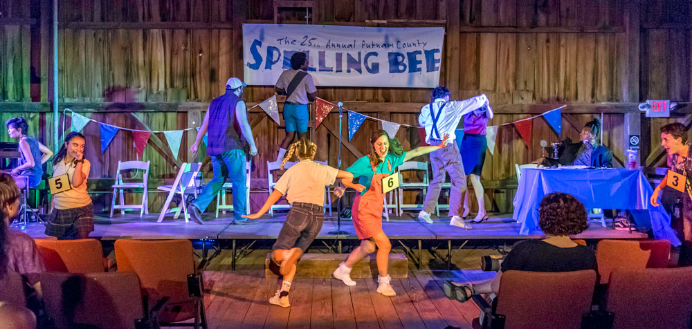 The 25th Annual Putnam County Spelling Bee, Lyric Theatre @ Illinois, Allerton Music Barn Festival 2018, Photo by Darrell Hoemann