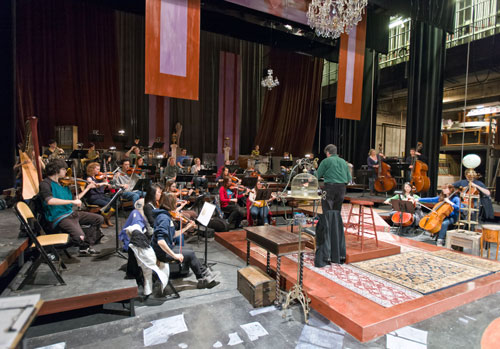 My Fair Lady Orchestra Rehearsal, Tryon Festival Theatre, Krannert Center