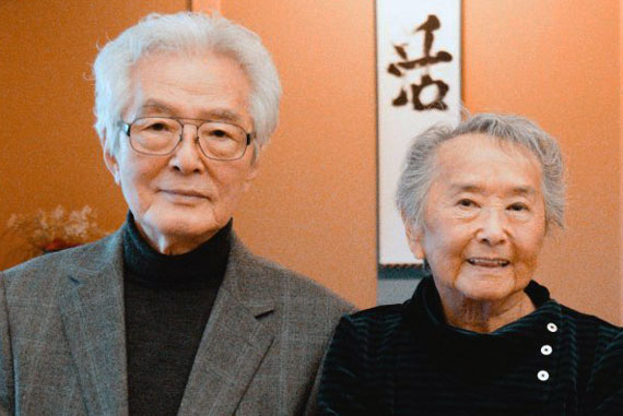 Shozo Sato and Alice Sato