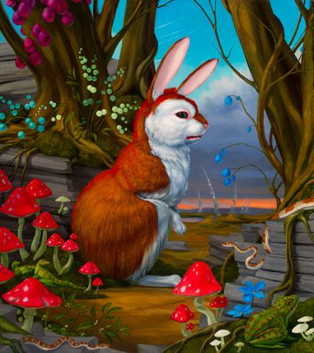 Amygdala Rabbit by Laurie Hogin