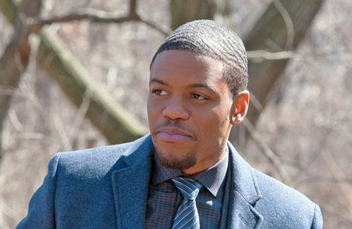 Jon Michael Hill, Publicity Photo from Elementary