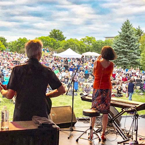 Marcia Ball, OUTSIDE at the Research Park 2018