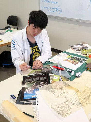 FAA Summer Intensive Landscape Architecture Class