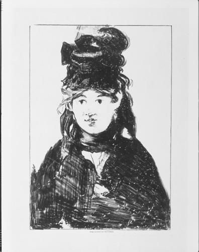 Berthe Morisot by Édouard Manet, Image Courtesy of Krannert Art Museum