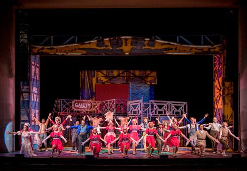 Crazy for You, Lyric Theatre @ Illinois, April 2019, Photo by Darrell Hoemann