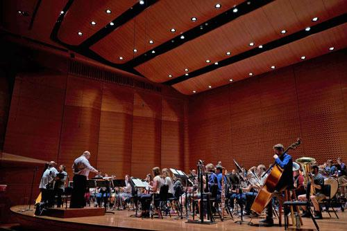 Rehearsal for Gathering: A Sesquicentennial Celebration, Alice Tully Hall, Chicago, April 2018