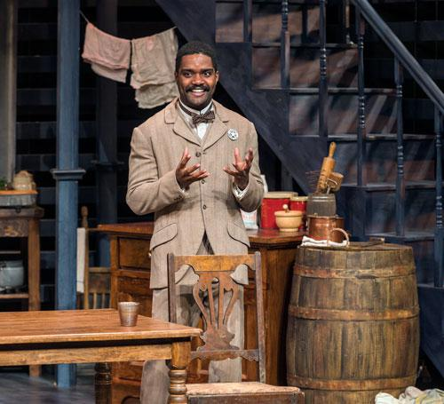 August Wilson's Gem of the Ocean, Department of Theatre, October 2019, Photo by Darrell Hoemann