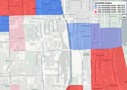 Urban Data Analytics Heat Map