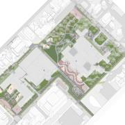 Design by Jenny Emmert and Lily Holmes for ARCH 574: Design for COVID-19: Rethinking the University Campus