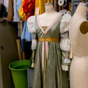 Costume Shop Storage at Krannert Center, Photo by Darrell Hoemann