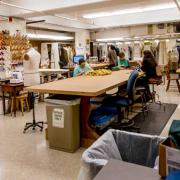 Costume Shop at Krannert Center, Photo by Darrell Hoemann