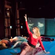 Graveyard III Choreographed by Rhea Speights for Studiodance I 2015, Photo by Natalie Fiol