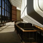 Behind the Great Hall at Krannert Center
