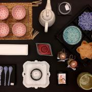 Components for the Tea Ceremony on Sale at Matsuri