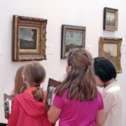 School Tour at Krannert Art Museum