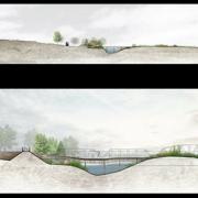 Visual Topography by Xinnan Jiang, Landscape Architecture Sasaki Day Award Finalist 2015
