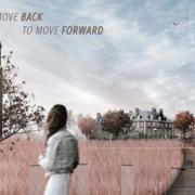 Move Back to Move Forward, Sesquicentennial Design Competition Entry by Alice Fang, Reynaldo De Leon Jr., and Ava Sierra Heckman, 2017