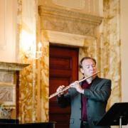 Jonathan Keeble Performs in Smith Memorial Hall, Photo by Natalie Fiol