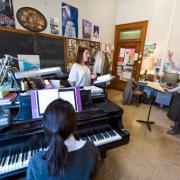 Sylvia Stone Gives a Voice Lesson