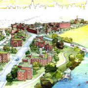 Detail from Jula C. Lathrop Homes Plan by Heidy Valenzuela