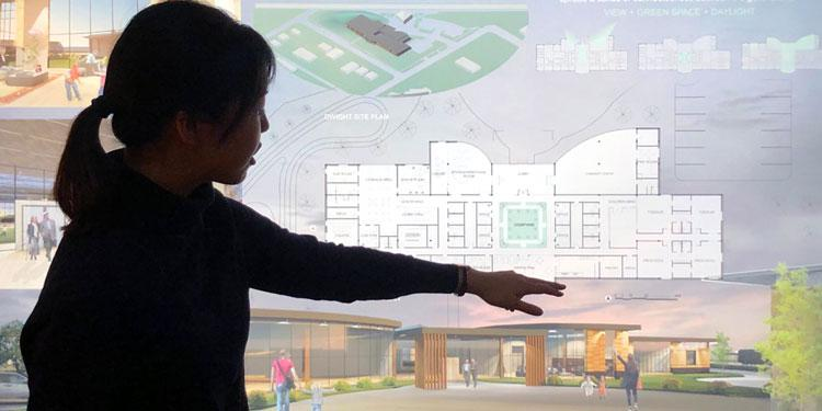 Architecture Presentation of International Care and Community Center