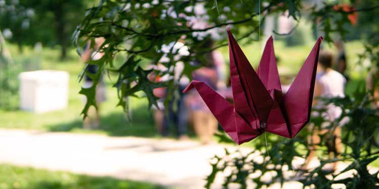 Paper Crane at Matsuri, Japan House 2016