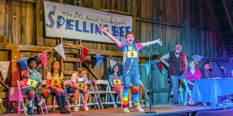 25th Annual Putnam County Spelling Bee, Lyric Theatre @ Illinois, September 2018, Photo by Darrell Hoemann