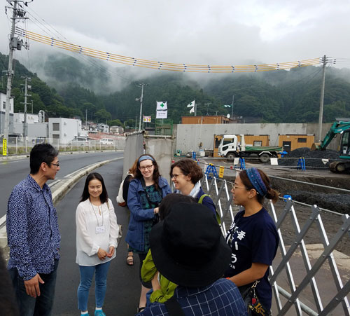 Urban Planning Students in Japan